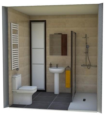 fontanería para baño Bilbao